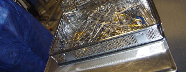 OP-stue og sterile varer