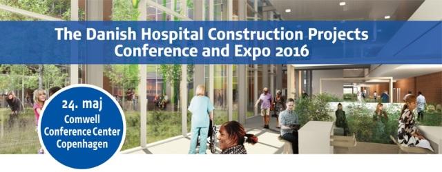 Konference om hospitalsbyggerier