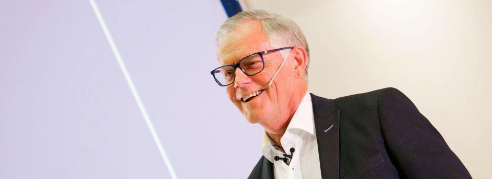 Gunnar Oerskov paa FSTA aarskonference