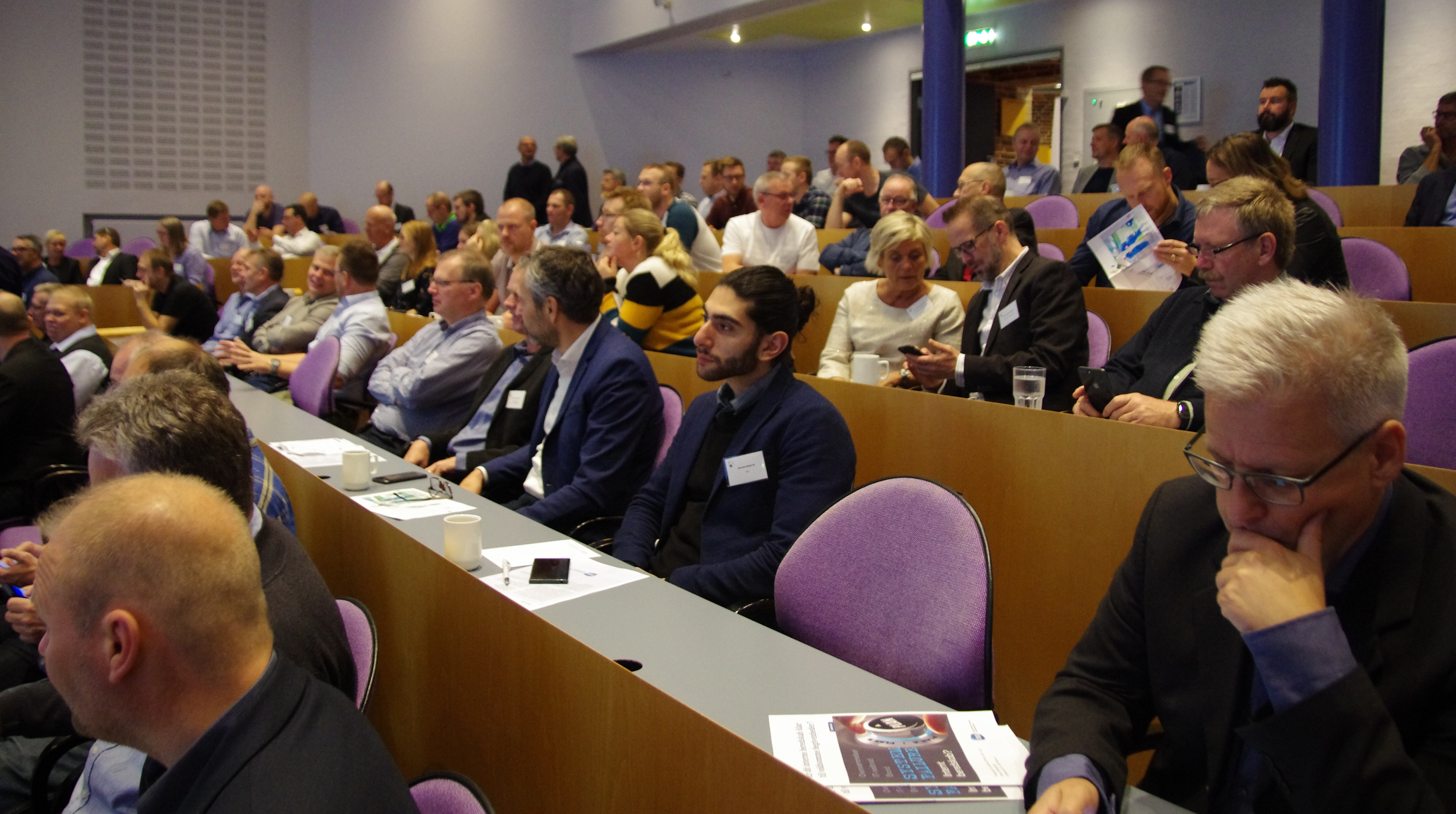 Studerende på Årskonferencen